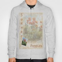 Summer Poppies Revisited Hoody