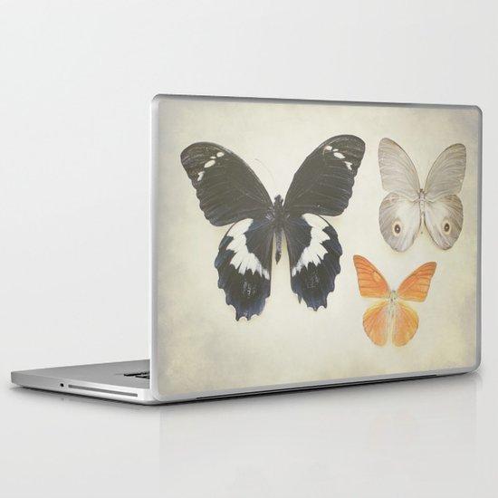 Brown Butterflies  Laptop & iPad Skin
