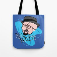 Mr. White Tote Bag