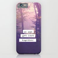 iPhone & iPod Case featuring Together by Rachel Burbee