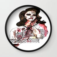 Bloody Lana  Wall Clock