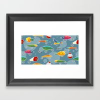Lures Framed Art Print