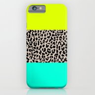 iPhone & iPod Case featuring Leopard National Flag XI by M Studio