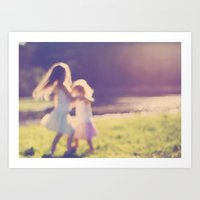 Childhood Dream Art Print