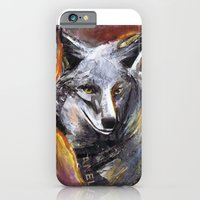 iPhone & iPod Case featuring Wolf by heatherinasuitcase
