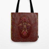 Aztec God Tote Bag