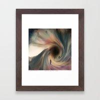 Holes In The Void Framed Art Print