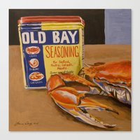 Meg's Old Bay Canvas Print