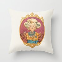 Queen Throw Pillow