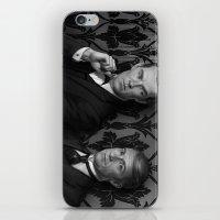 Holmes & Watson -- BBC meets Granada iPhone & iPod Skin
