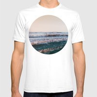 Pacific Lullaby Mens Fitted Tee White SMALL