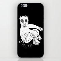 The White Demon iPhone & iPod Skin