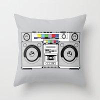 1 kHz #2 Throw Pillow
