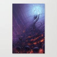 The Sorcerer Canvas Print