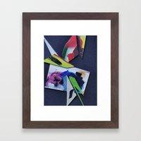 micro-v1 Framed Art Print