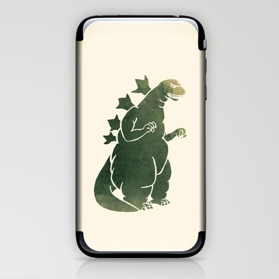 Godzilla - King of the Monsters iPhone & iPod Skin
