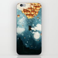 Where All The Wishes Com… iPhone & iPod Skin