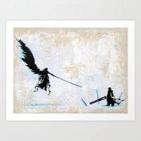 One Winged Angel Art Print