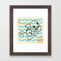 S-007 Framed Art Print