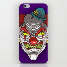 Badass Clown iPhone & iPod Skin
