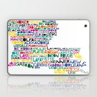 Louisiana Typography Laptop & iPad Skin