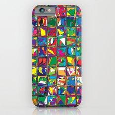 Stacks Geometric Art Print. Slim Case iPhone 6s