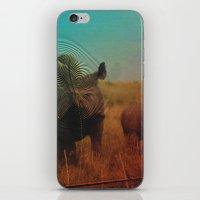 Abstract Rhino iPhone & iPod Skin
