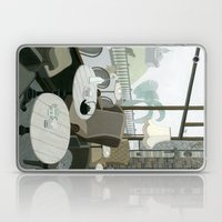 Cafe With A View Of The … Laptop & iPad Skin
