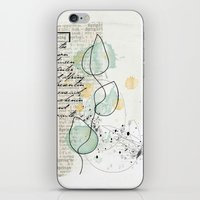 spring time floral iPhone & iPod Skin