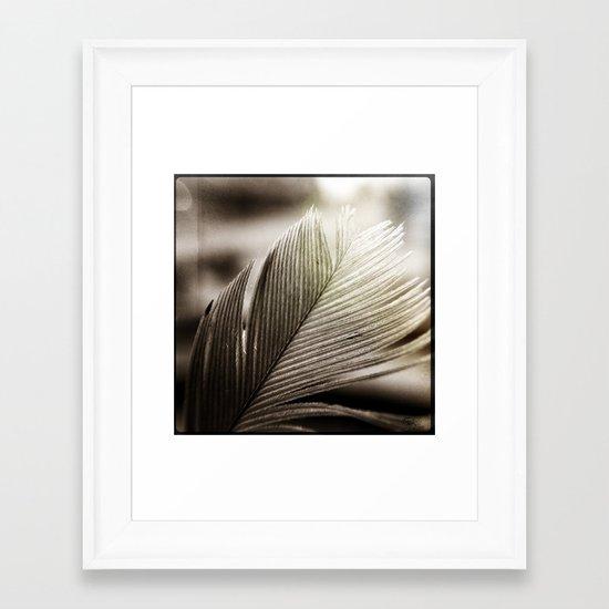 Feather Tip Framed Art Print