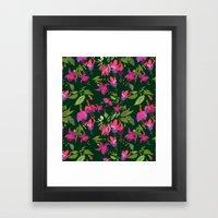 April Blooms(Fuchsia)  Framed Art Print