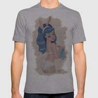 Blue Bunny Mens Fitted Tee Athletic Grey SMALL