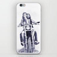 Biker Babes iPhone & iPod Skin