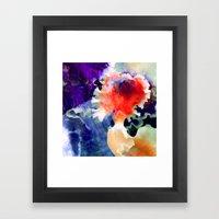 Of Orchids Framed Art Print
