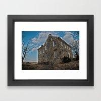 Pylesville House Framed Art Print