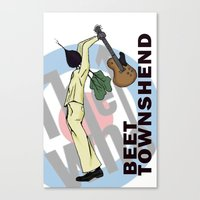 Beet Townshend Canvas Print