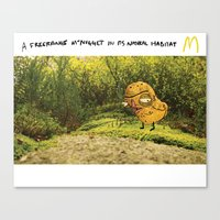 Free-range McNugget Canvas Print