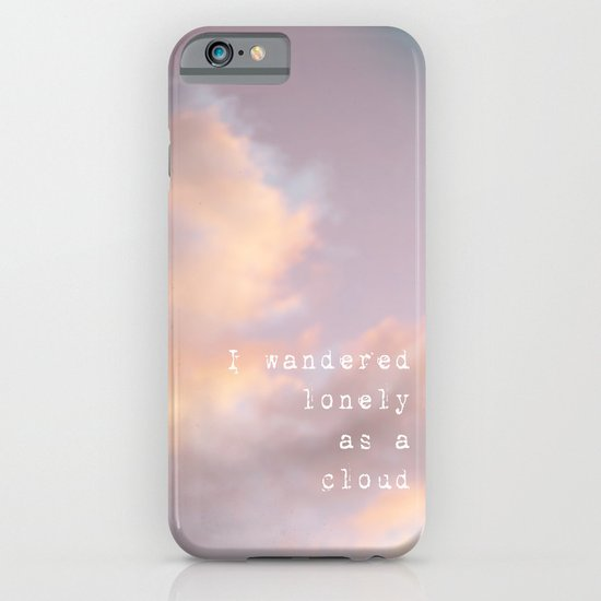 I Wandered Lonely As A Cloud iPhone & iPod Case