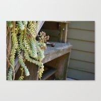 Work Bench Canvas Print
