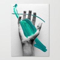 Splat! Canvas Print
