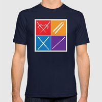 The Weapons Mens Fitted Tee Navy SMALL