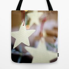 Christmas Stars Tote Bag