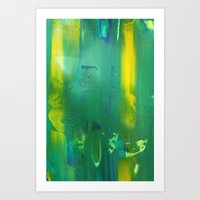 Abstract Painting 8 Art Print