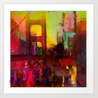And The Night Comes Art Print