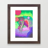 Soul Sailor no.3: Sailing the Universe Framed Art Print