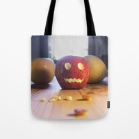 This halloween I want to be a pumpkin!!! Tote Bag