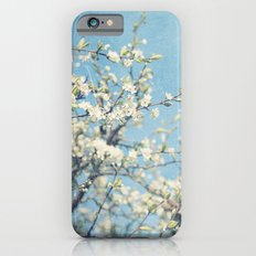 White and Blue Spring no. II iPhone 6s Slim Case