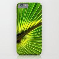 Green Burst iPhone 6 Slim Case