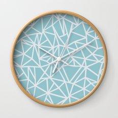 Ab Outline Salt Water Wall Clock