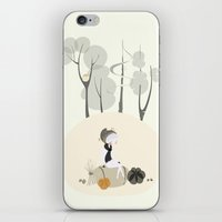 Our Elf of the Harvest iPhone & iPod Skin